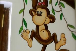 Scimmietta femmina