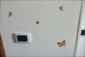 Farfalle e api
