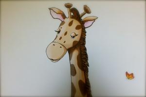 Giraffa particolari